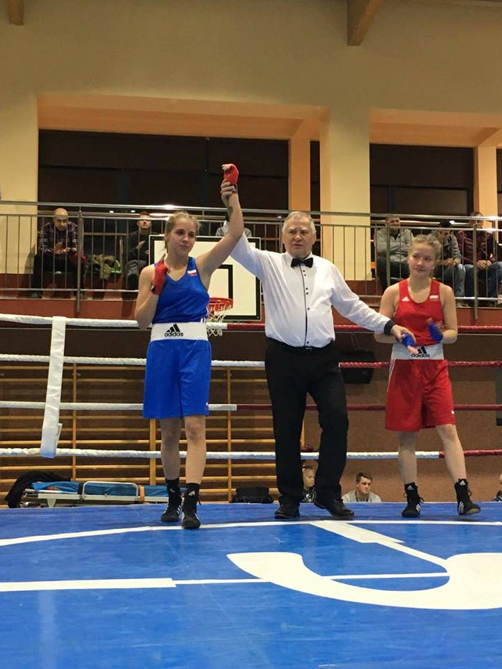 Weronika Pawlak – young talent of Polish boxing