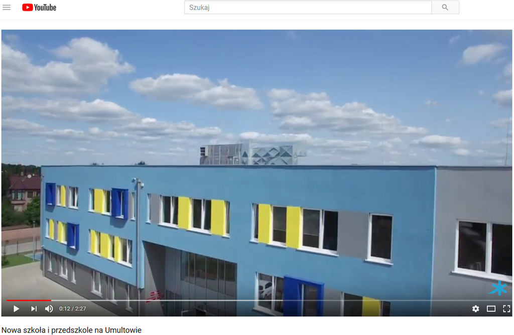 New school and kindergarten in Poznan (Umultowo district) with Clima Gold devices