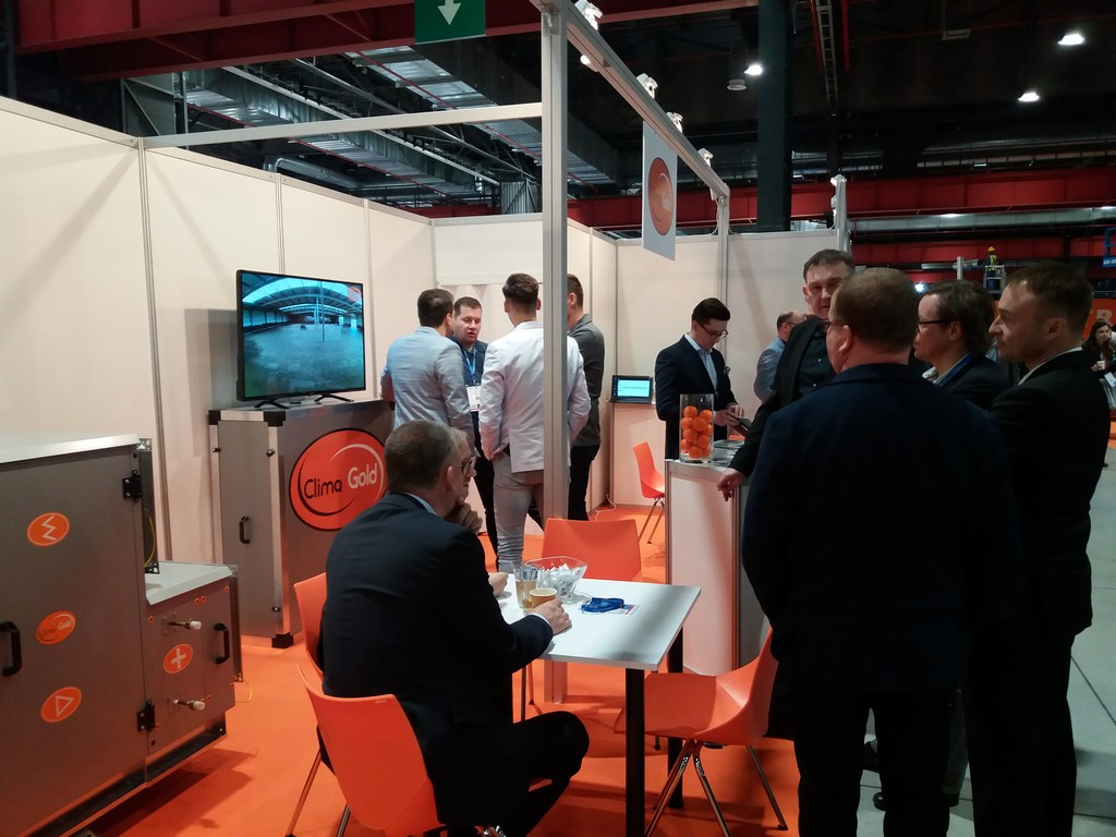 Report from the 17th Ventilation Forum – Air conditioning Showroom in Warsaw
